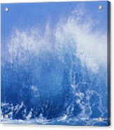 Crashing On Shore Acrylic Print by Vince Cavataio - Printscapes