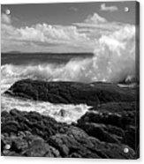 Crashing Wave Roundstone Ireland Acrylic Print