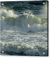 Crashing Wave Acrylic Print by Sandy Keeton