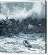 Crashing Waves Acrylic Print