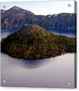 Crater Lake 1 Acrylic Print
