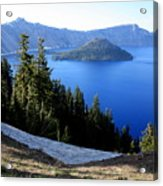 Crater Lake 12 Acrylic Print