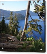 Crater Lake 9 Acrylic Print