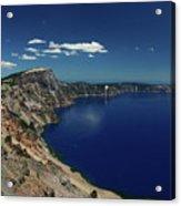 Crater Lake A Caldera Lake  Acrylic Print