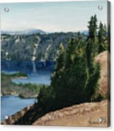 Crater Lake Oregon Acrylic Print