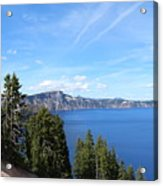 Crater Lake View  Acrylic Print