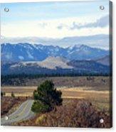 Crater Road California Acrylic Print