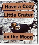 Crater1 Acrylic Print