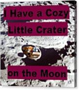 Crater11 Acrylic Print
