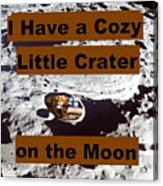 Crater13 Acrylic Print