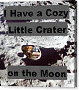 Crater14 Acrylic Print