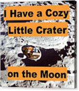 Crater16 Acrylic Print