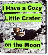 Crater18 Acrylic Print