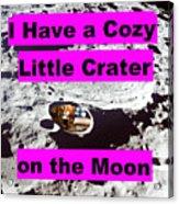 Crater23 Acrylic Print