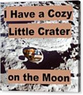 Crater26 Acrylic Print