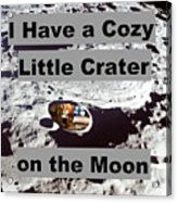 Crater27 Acrylic Print