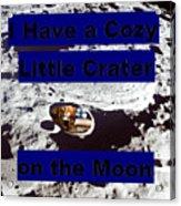 Crater32 Acrylic Print