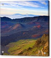 Craters Of Paradise Acrylic Print