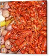 Crawfish Boil Acrylic Print