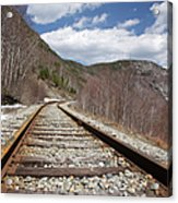 Crawford Notch State Park - Maine Central Railroad Acrylic Print
