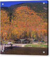 Crawford Notch Willey House Acrylic Print