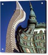 San Francisco On Lsd Acrylic Print