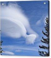 Crazy Clouds Acrylic Print