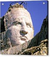 Crazy Horse In Progress II Acrylic Print