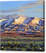 Crazy Mountains-Morning Acrylic Print