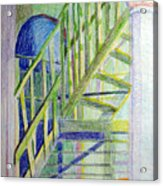 Crazy Steps Acrylic Print