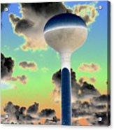 Crazy Tower Acrylic Print