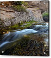 Crazy Woman Creek Acrylic Print