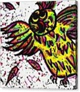 Crazybird Acrylic Print