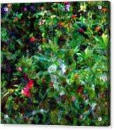 Crazyquilt Garden Acrylic Print