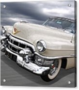 Cream Of The Crop - '53 Cadillac Acrylic Print