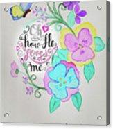 Creation By Virgin Acrylic Print