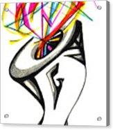 Creative Mind Acrylic Print