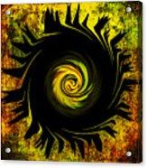 Creative Minds It Started With A Dahlia Acrylic Print