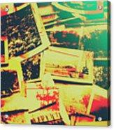 Creative Retro Film Photography Background Acrylic Print