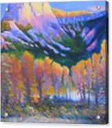 Creator Mountain Acrylic Print