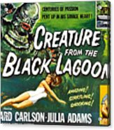 Creature From The Black Lagoon, Upper Acrylic Print