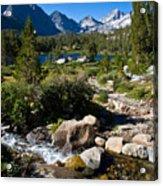 Creek At Heart Lake Acrylic Print