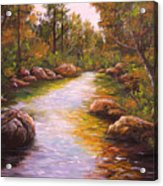 Creek Retreat VII Acrylic Print