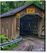 Creek Road Bridge Acrylic Print
