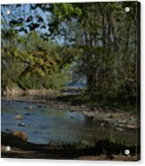 Creek To Lake Acrylic Print