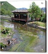 Creekside Lookout Acrylic Print