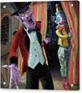 Creepy Circus Acrylic Print