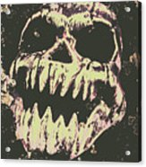 Creepy Face From Nightmares Past Acrylic Print