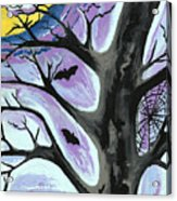 Creepy Night Acrylic Print
