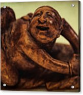 Creepy Things On The Mantel 4 Acrylic Print